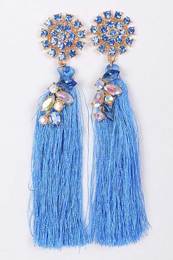 TASSEL DANGLE EARRINGS FOR YOU - orangeshine.com