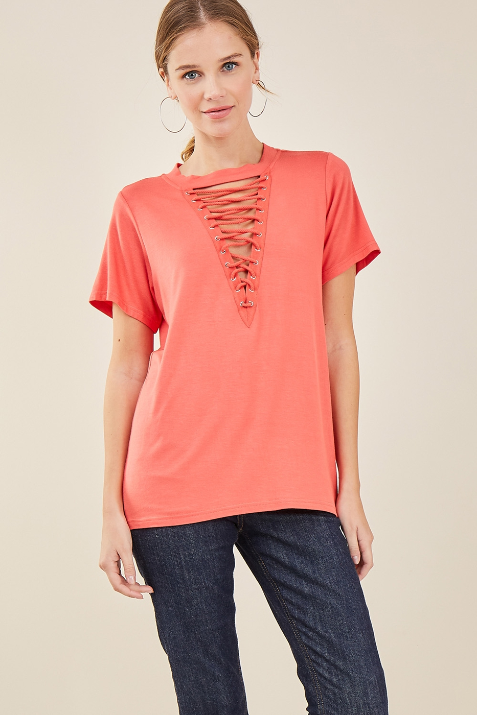 Crew-neck top - orangeshine.com