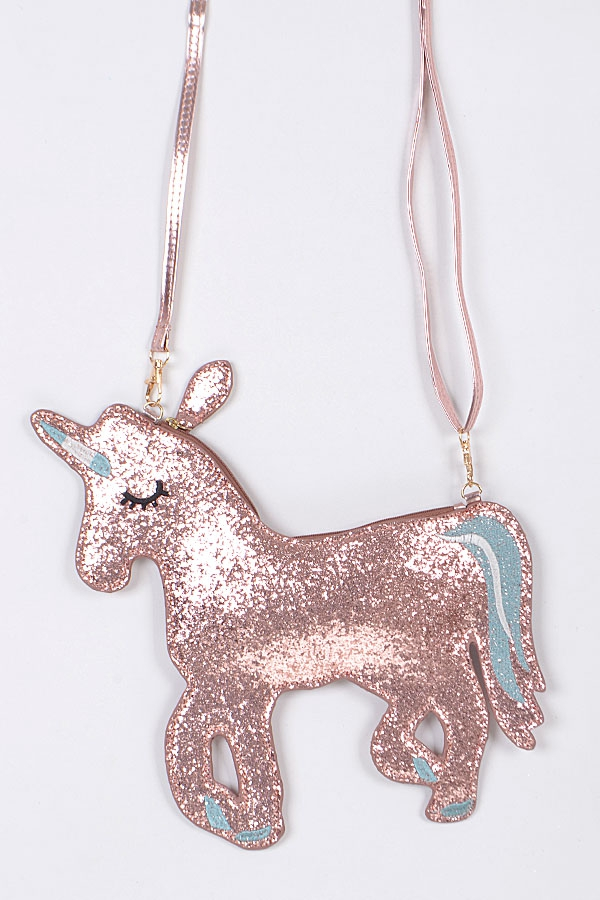 SPARKLING UNICORN CLUTCH - orangeshine.com