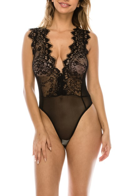 Lace Bodysuit - orangeshine.com