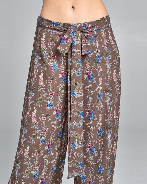 Floral Long Pants - orangeshine.com