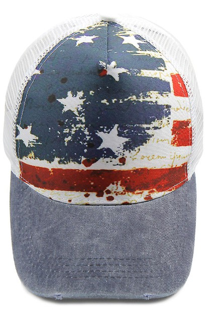 USA Flag Baseball Cap - orangeshine.com