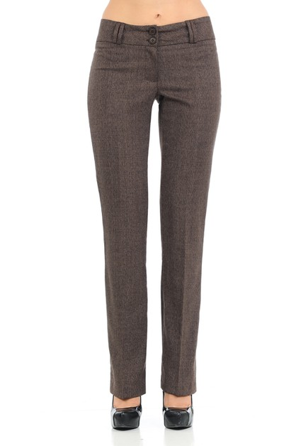 Women Basic Straight leg Pants - orangeshine.com
