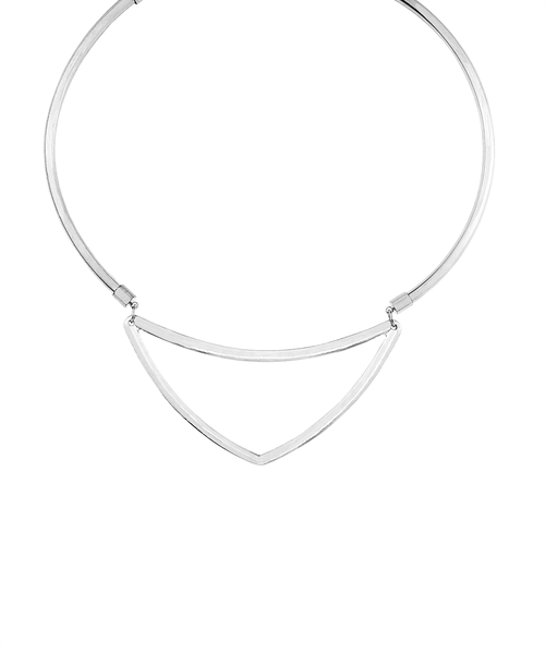 Triangle metal choker - orangeshine.com
