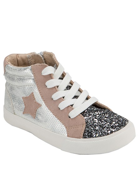 FRONT GLITTER SIDE STAR HIGH CASUAL  - orangeshine.com
