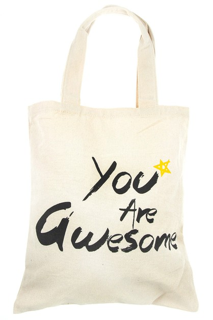 YOU  ARE AWESOME TOTE BAG - orangeshine.com