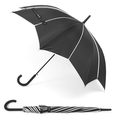 12pc Pack Black and Silver Umbrella - orangeshine.com