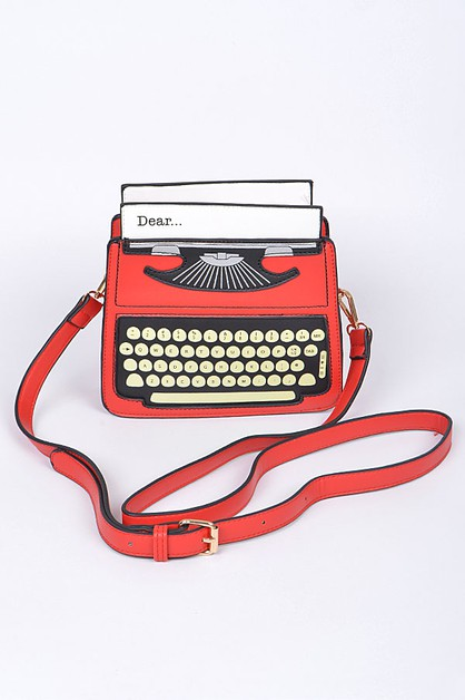 Type Writer Clutch - orangeshine.com