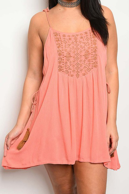 PLUS SIZE SWING DRESS - orangeshine.com