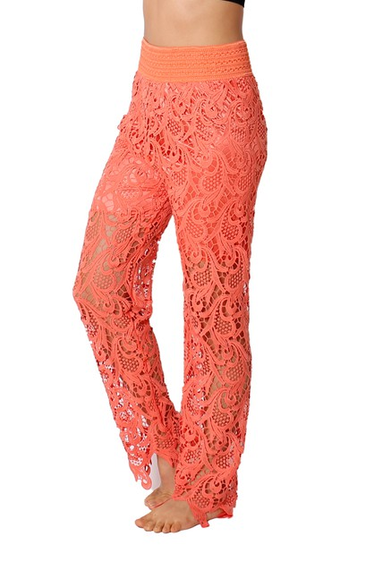 Crochet Pants P300 - orangeshine.com
