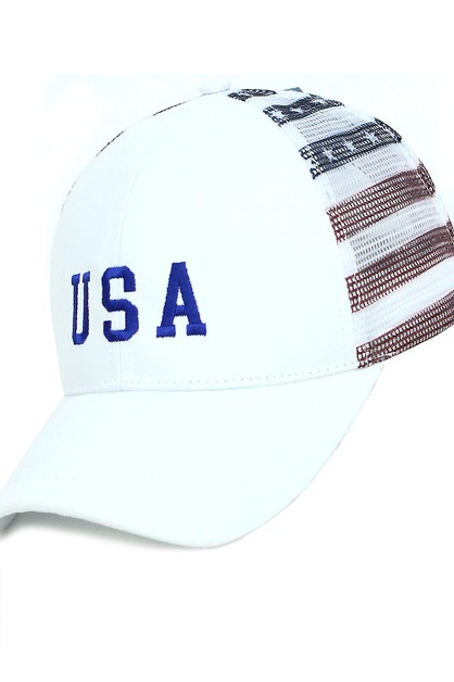 USA Baseball Cap - orangeshine.com