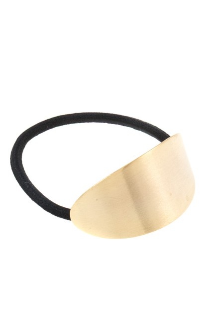 METAL CURVED ACCENT HAIR TIE - orangeshine.com