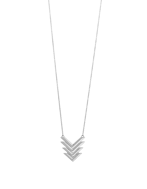 Chevron Necklace - orangeshine.com