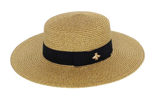 Straw Fedora Floppy Hat - orangeshine.com