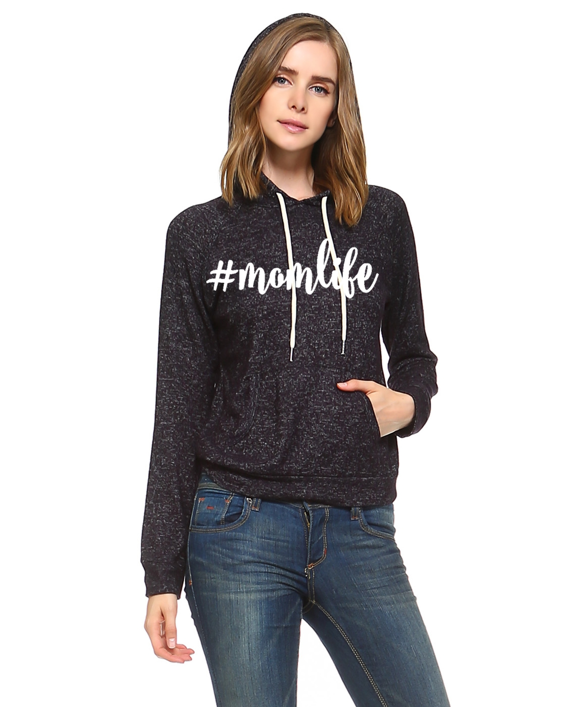 Momlife 2 urban funky graphic Hoodie - orangeshine.com