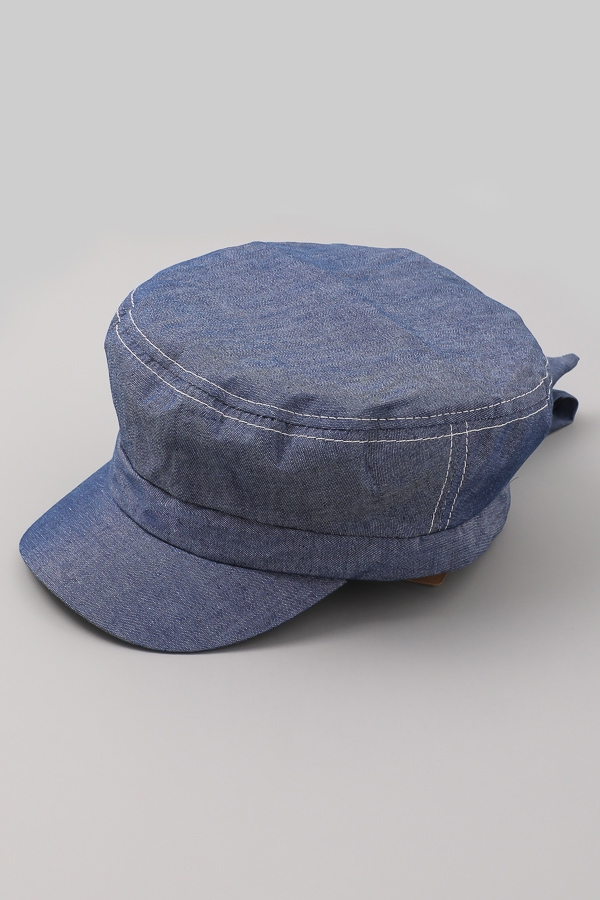 Dana Denim Cap - orangeshine.com