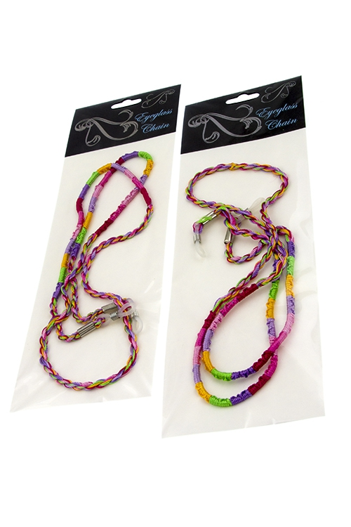 Colorful Eyeglass Chain Holders - orangeshine.com