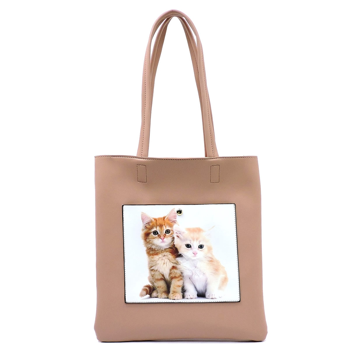 Cat Picture Flat Tote - orangeshine.com