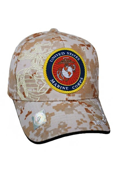 Marine License Cap - orangeshine.com