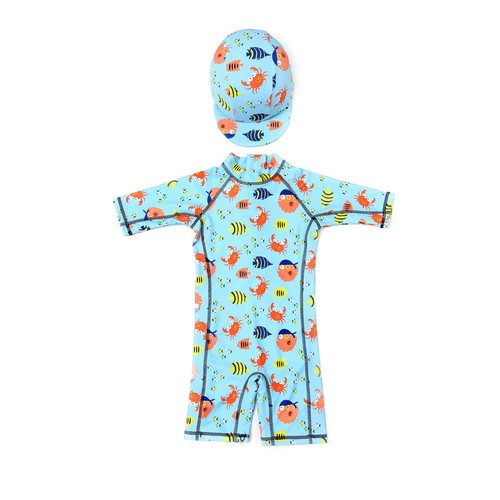 Marine Animal Swim Suite For Boys  - orangeshine.com