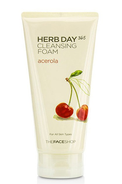 Herb Day 365 Acerloa Cleansing Foam - orangeshine.com
