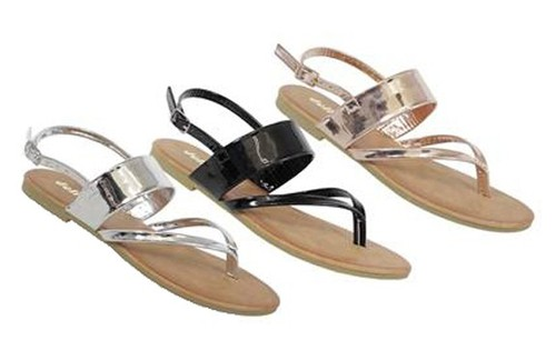 ERAR-334-YK Slide Sandals - orangeshine.com