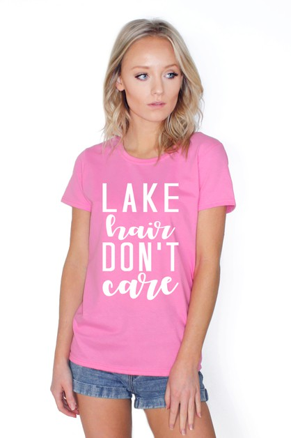 LAKE HAIR DONT CARE TOP - orangeshine.com
