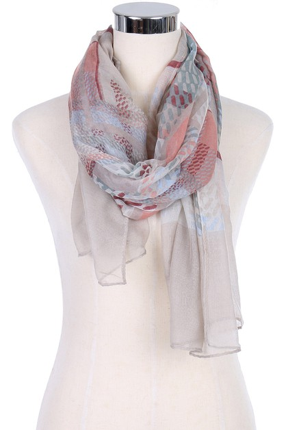 Multi Tone Fashion Scarves - orangeshine.com