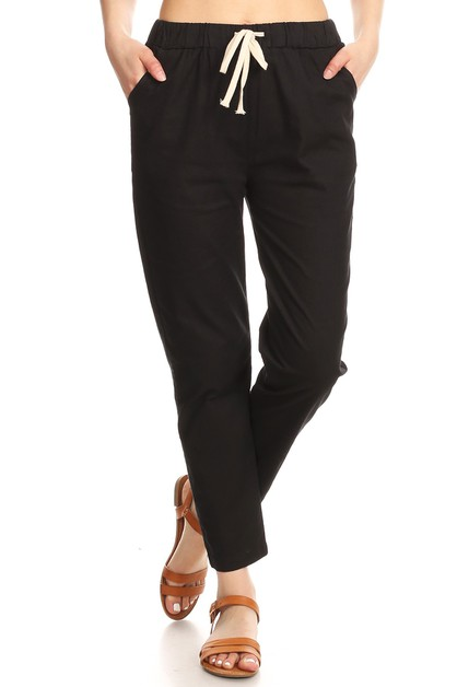 Relaxed Fit Pants Spring Summer  - orangeshine.com