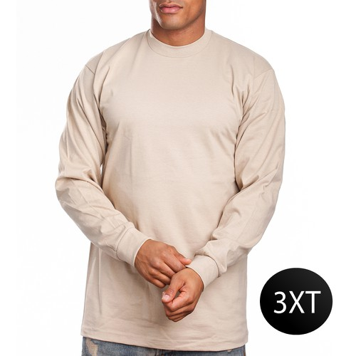 SUPER HEAVY LONG SLEEVE-C-3XT - orangeshine.com