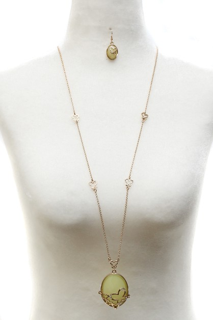LONG NECKLACE SET - orangeshine.com