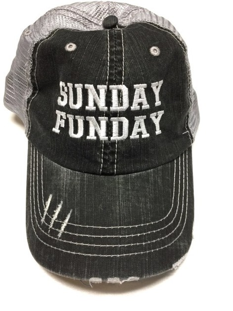 Sunday Funday Trucker Hat - orangeshine.com