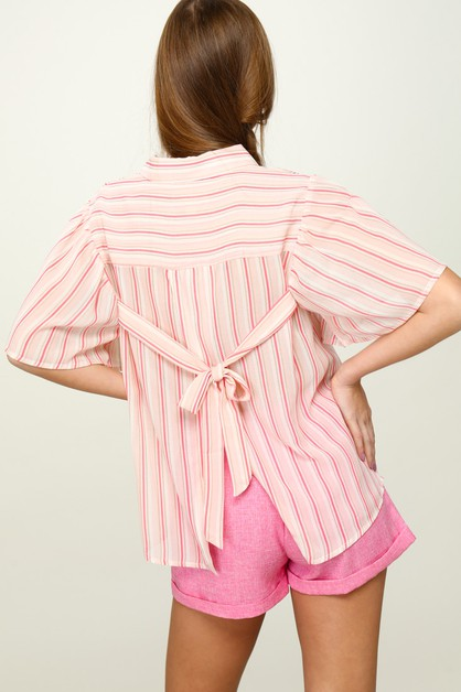 Button-down striped shirt - orangeshine.com