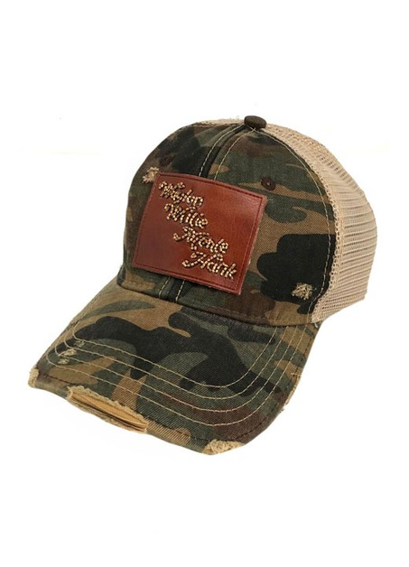 BEADED LEATHER COUNTRY LEGENDS CAMO - orangeshine.com