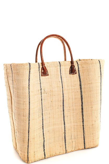 Trendy Woven Straw Modern Tote Bag - orangeshine.com