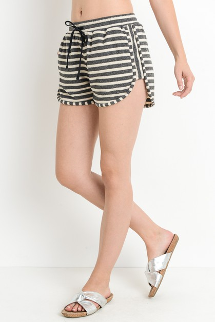 Striped Dolphin Shorts - orangeshine.com