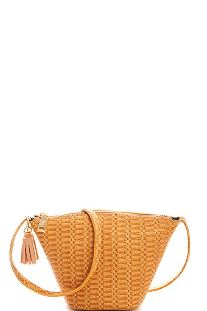 Designer Cute Mini Tassel Crossbody  - orangeshine.com