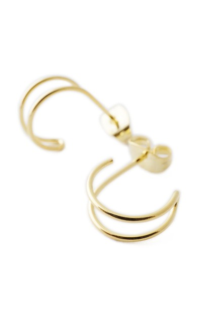 Double Hoop Earrings - orangeshine.com