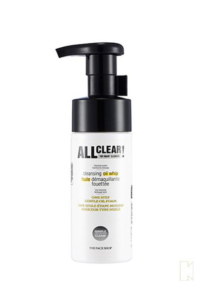 All Clear Cleansing Oil Whip - orangeshine.com