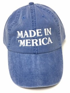 Made in Merica Vintage Baseball Cap - orangeshine.com