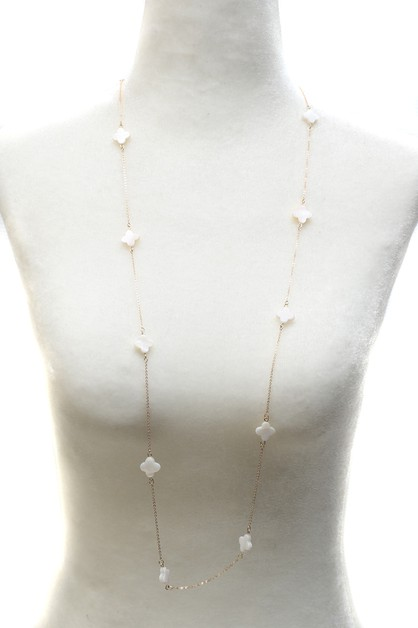 STONE BEAD NECKLACE - orangeshine.com