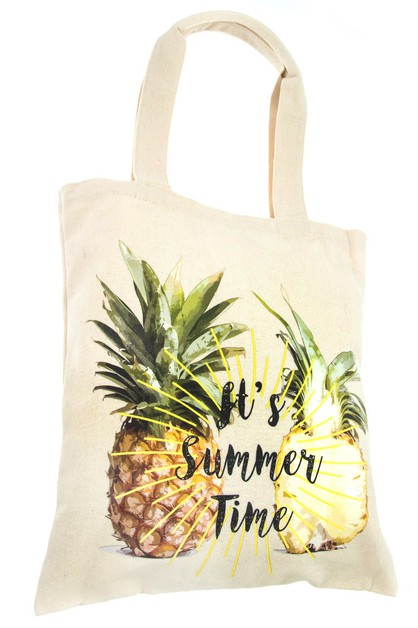 Its Summer Time Tote Bag - orangeshine.com