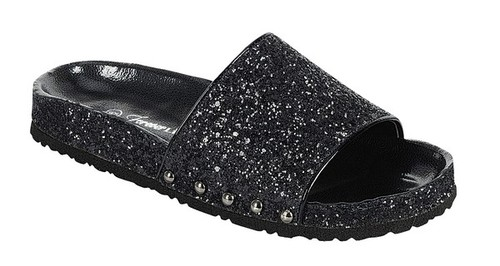 UNIFY-06 Women Glitter Lug Sole Shoe - orangeshine.com