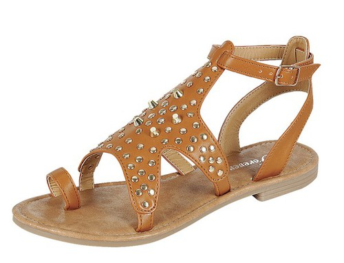 SENSE-55-FE Ring Slingback Sandals - orangeshine.com