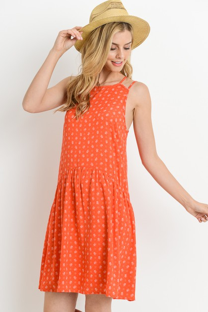 Drop Waist Dress - orangeshine.com