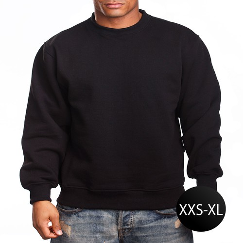 CREW NECK SWEATER-C-XXS-XL - orangeshine.com