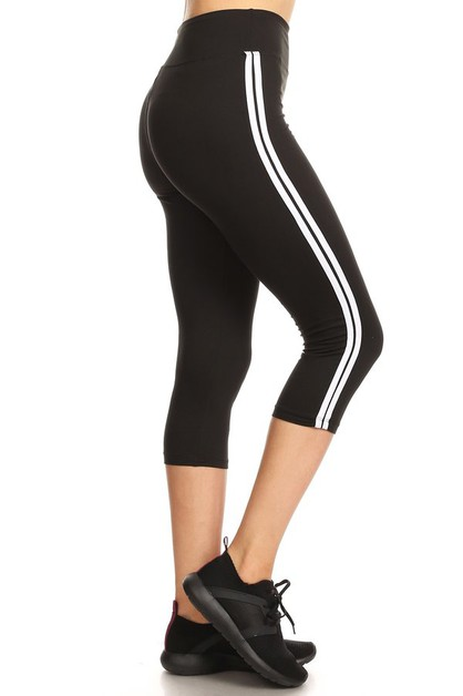 CAPRI LEGGINGS WITH WIDE WAISTBAND - orangeshine.com