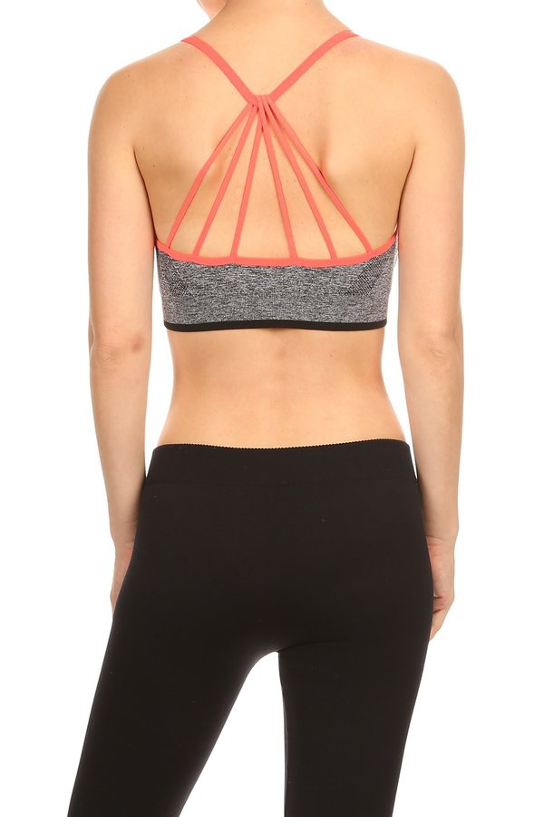 Fashion sports bra  - orangeshine.com