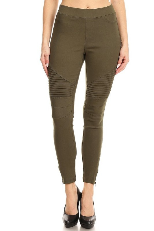 Slim fit colored jegging - orangeshine.com