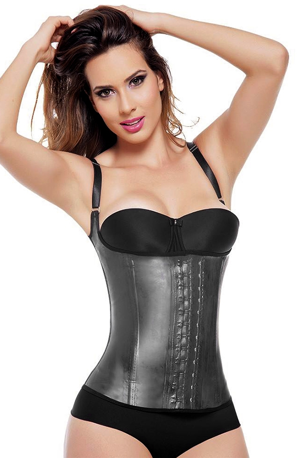 3 Hook Latex Waist Trainer - orangeshine.com